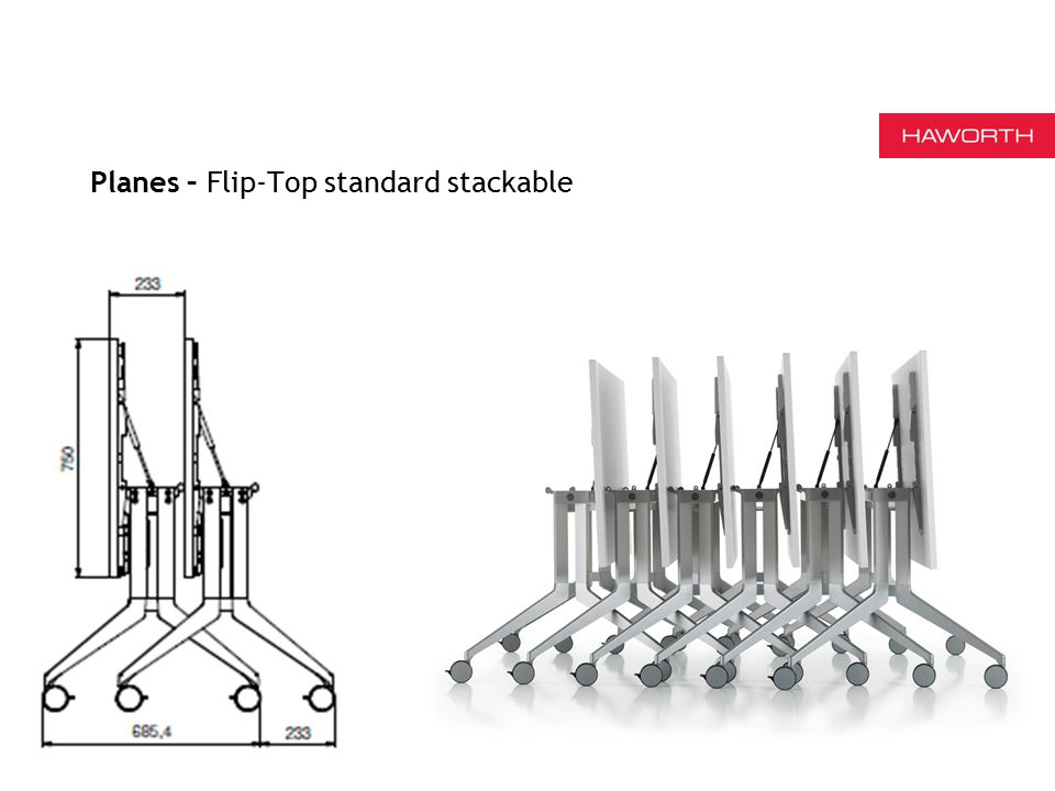 7 Planes – Flip-Top standard stackable