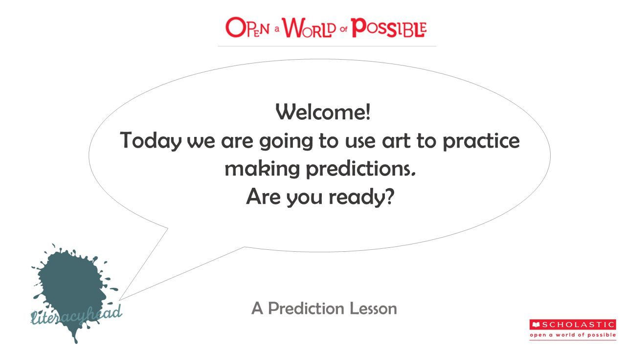 Take out a book you are reading independently. What predictions can you make about it?