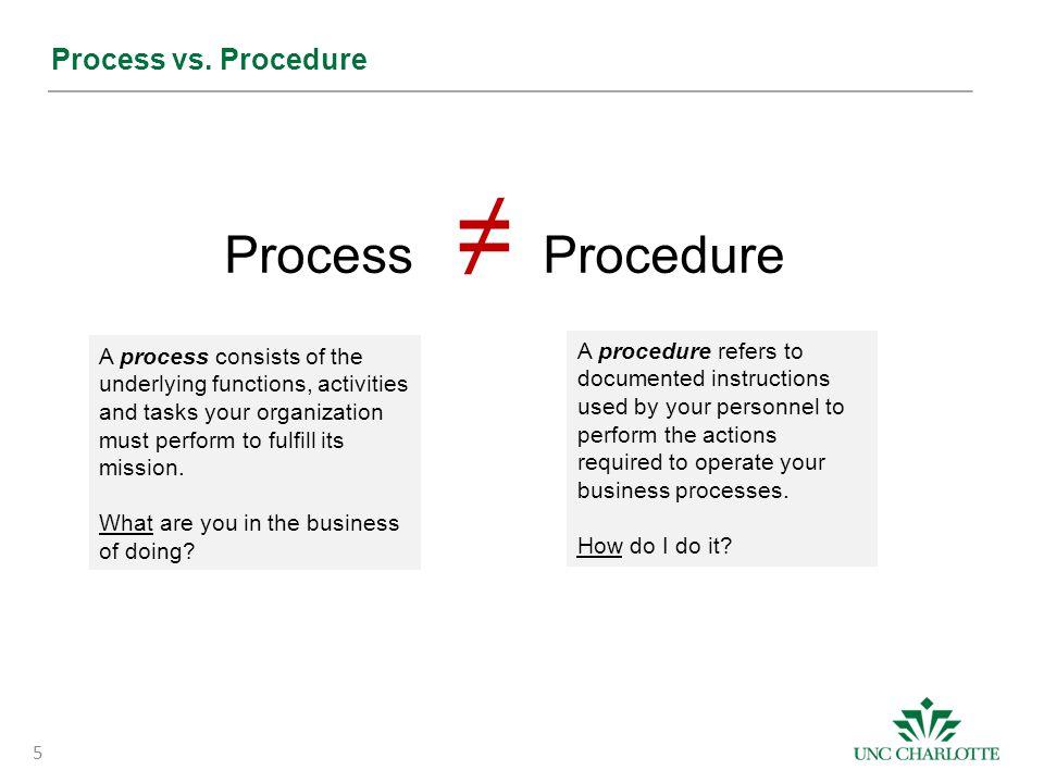 5 Process vs.