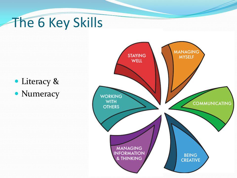 The 6 Key Skills Literacy & Numeracy