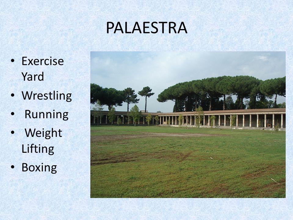 mosaic of women exercising in palaestra
