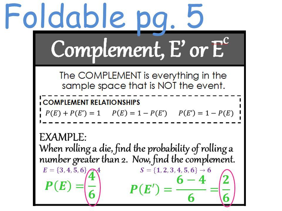 Foldable pg. 5