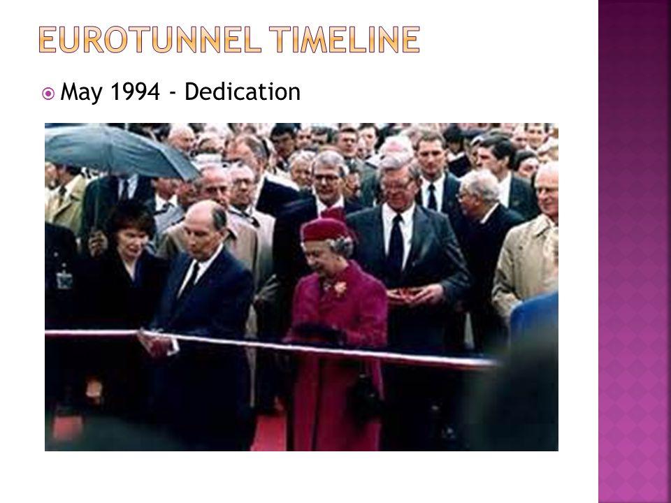  May 1994 - Dedication