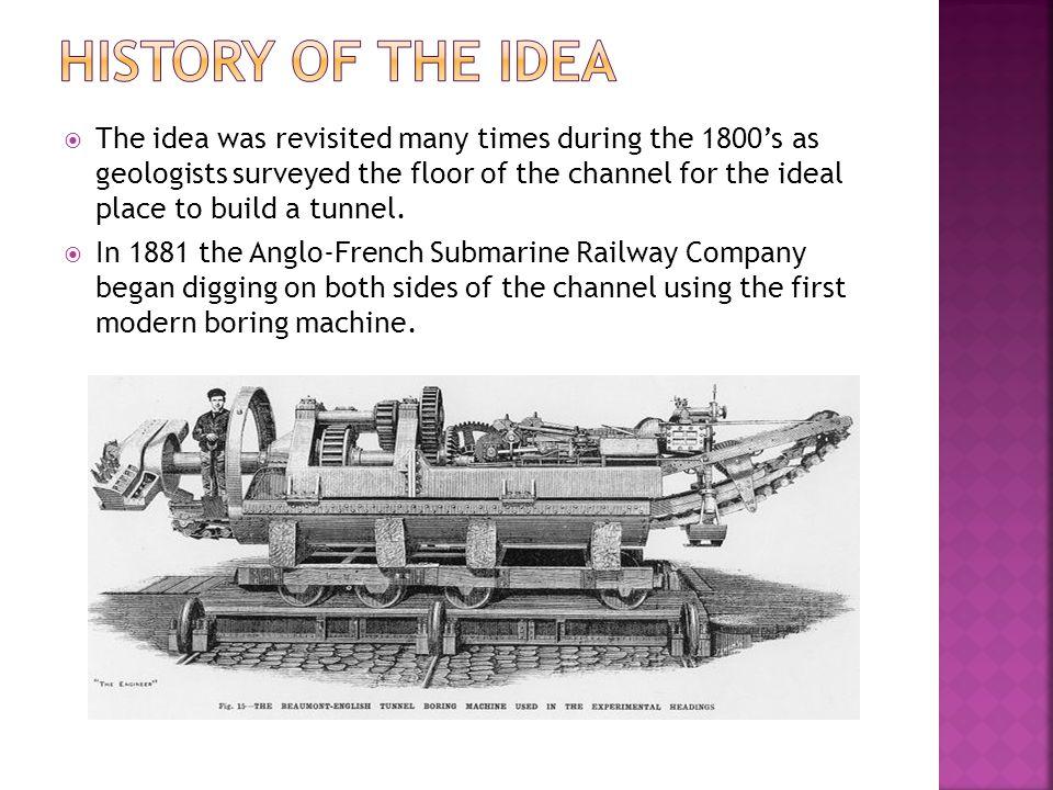  Dec. 1988 – Construction Begins in England