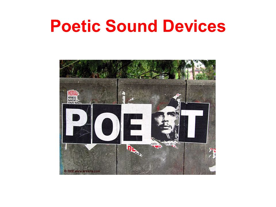 Poetic Sound Devices