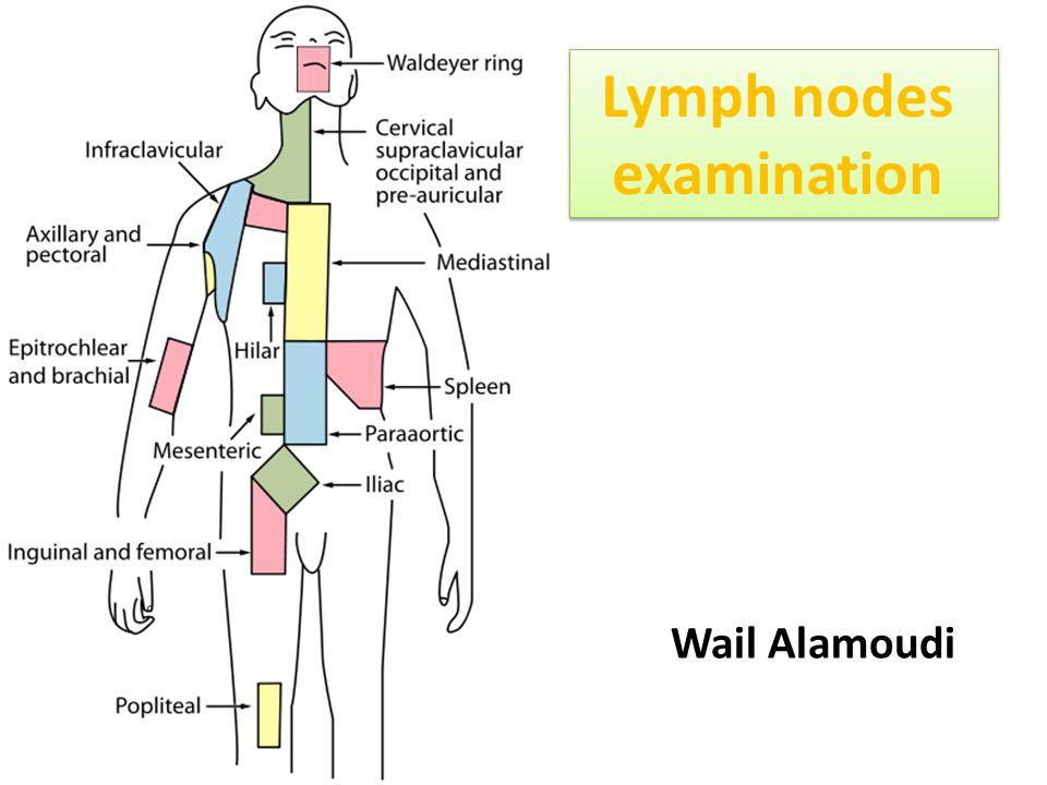 Lymph nodes examination Wail Alamoudi