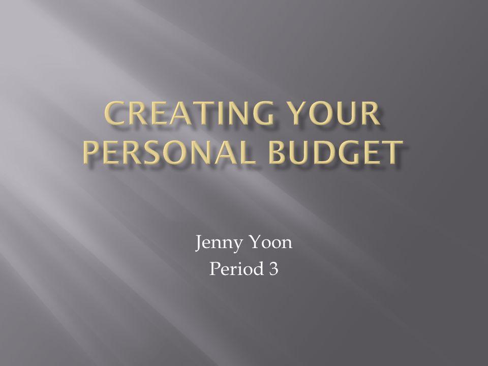 Jenny Yoon Period 3