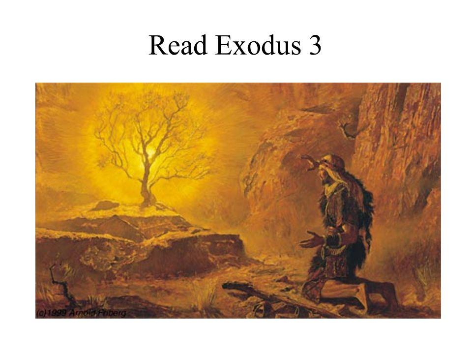 Read Exodus 3