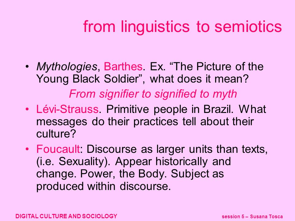 DIGITAL CULTURE AND SOCIOLOGY session 5 – Susana Tosca what does this mean.