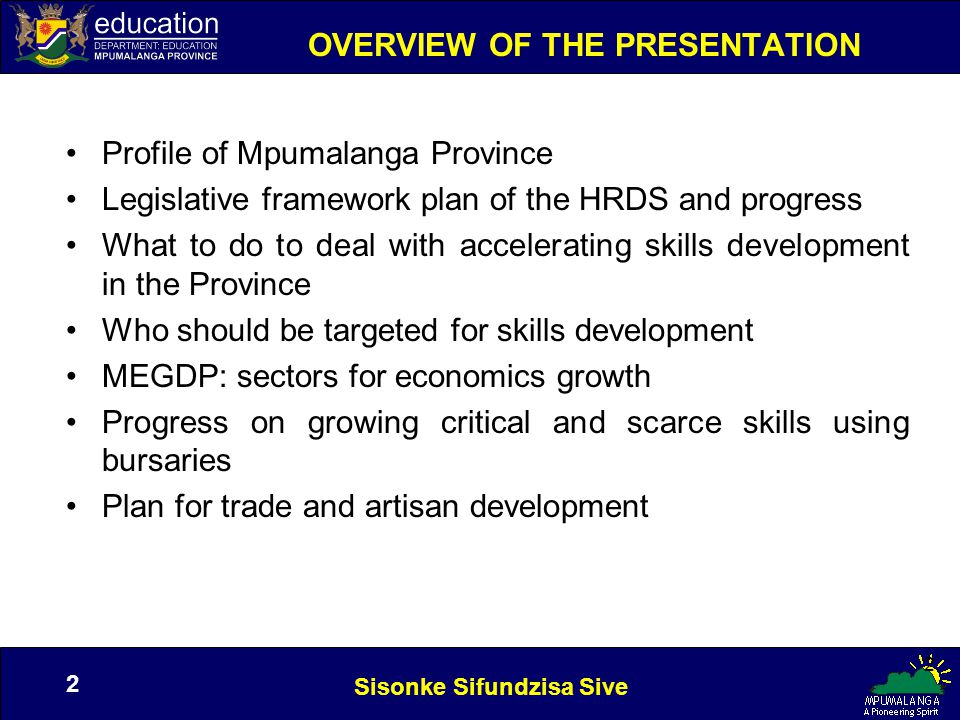 Sisonke Sifundzisa Sive 13 Forming Strategic Partnerships TARGETS IN THE HRDSPROGRESS Form partnerships with industry to expose graduates to the world of work The members of the HRDS coming from industry will help in this regard and the members of the Career Guidance Forum from industry will help.