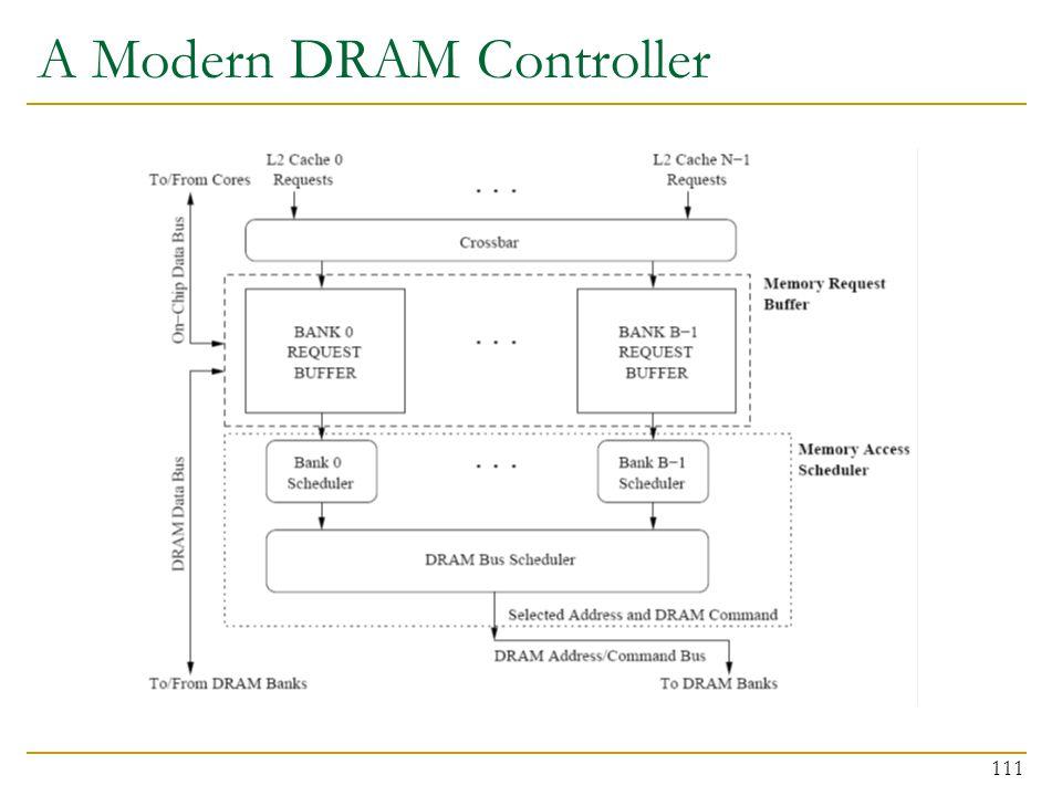 111 A Modern DRAM Controller