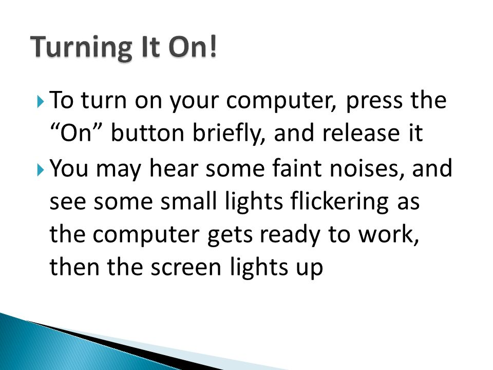  You don't have to turn off the monitor when you turn off your computer, as it will go to sleep when the computer is off  For laptops, there is no separate switch for the screen