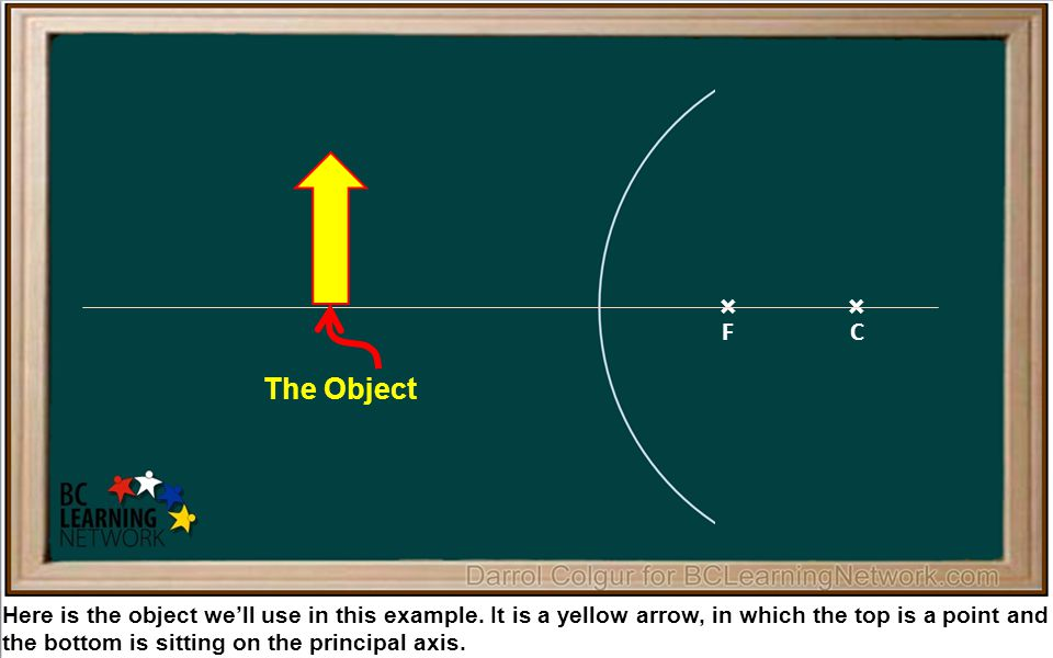 × Here is the object we'll use in this example.