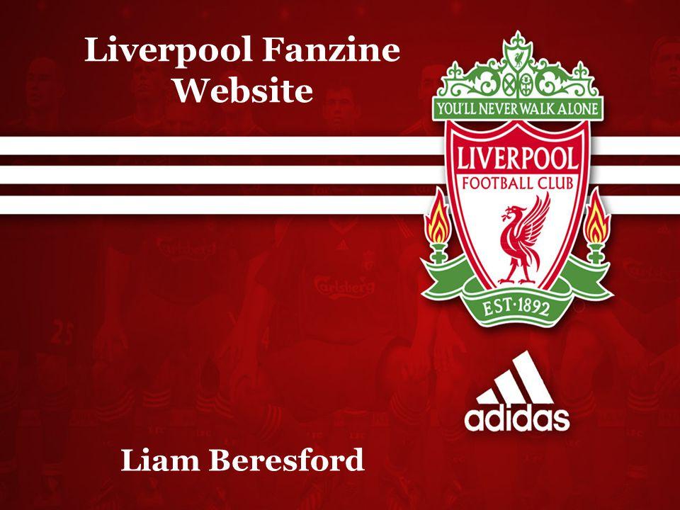 Liverpool Fanzine Website Liam Beresford