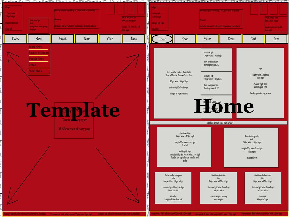 TemplateHome Template