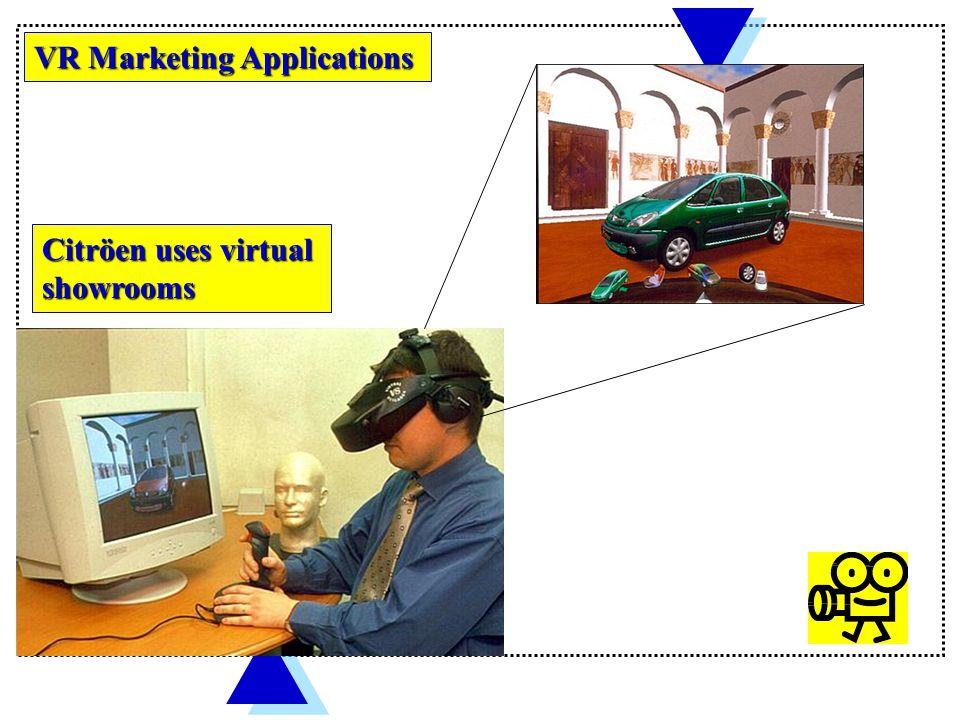 VR MARKETING APPLICATIONS
