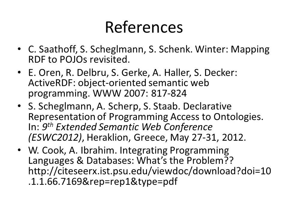 References C. Saathoff, S. Scheglmann, S. Schenk.