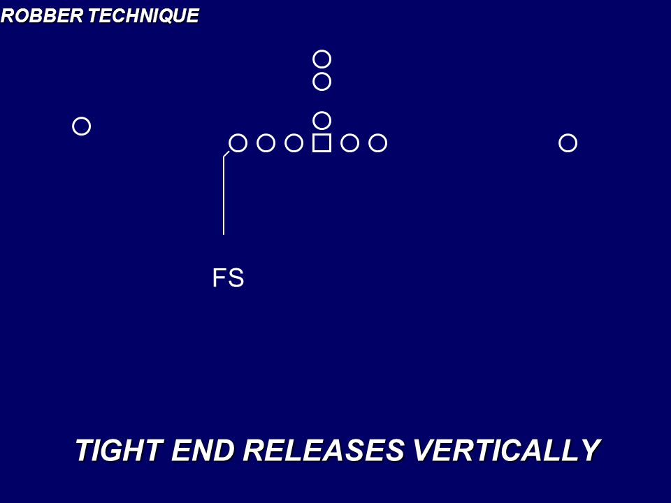 ROBBER TECHNIQUE TIGHT END RELEASES VERTICALLY FS