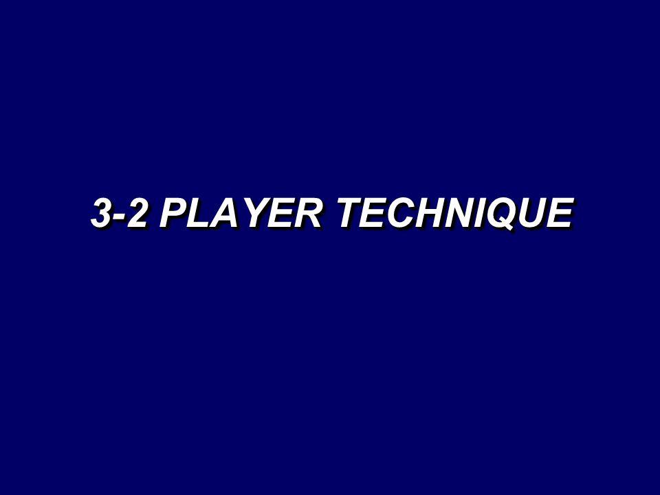 3-2 PLAYER TECHNIQUE