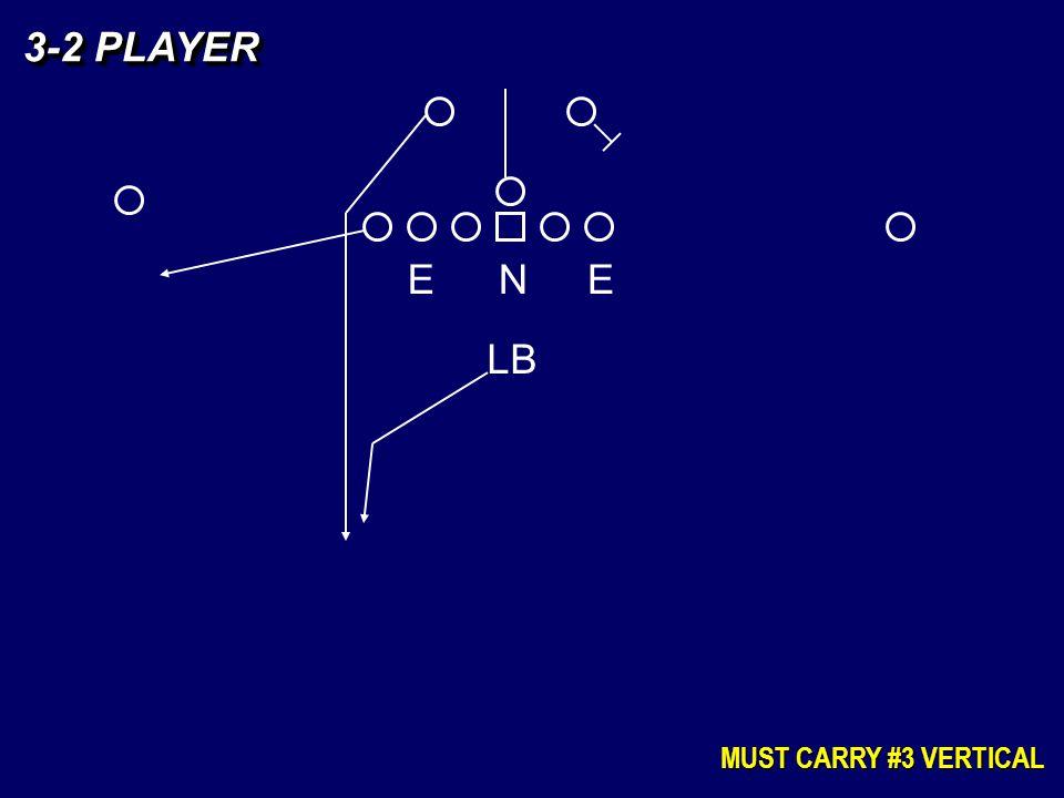 3-2 PLAYER MUST CARRY #3 VERTICAL EEN LB