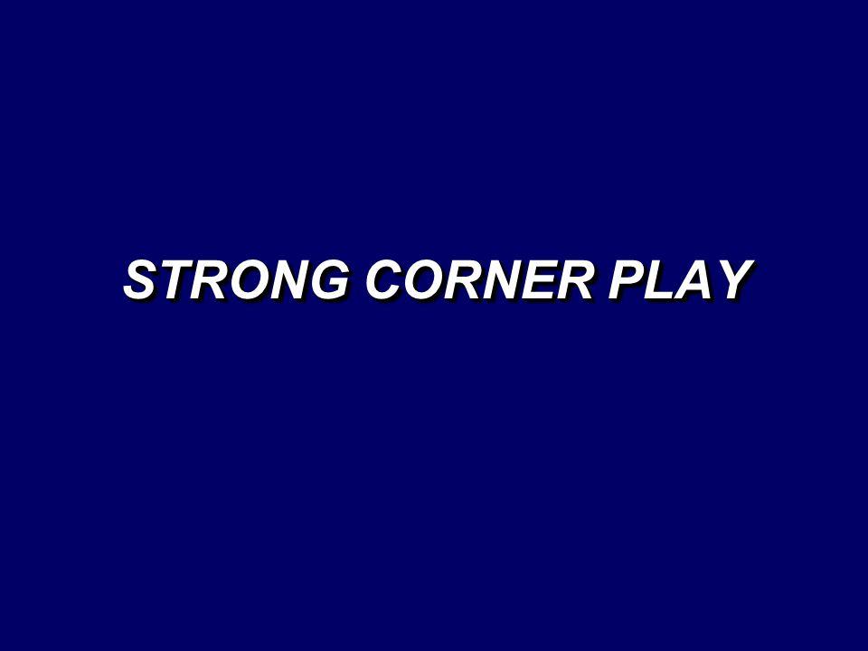 STRONG CORNER PLAY