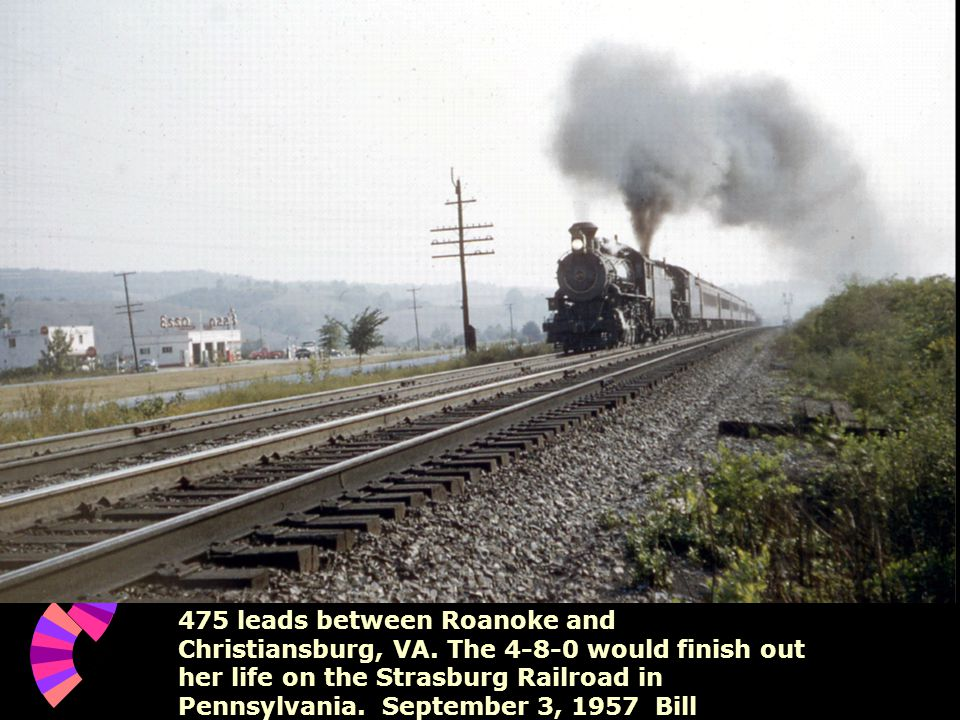 475 leads between Roanoke and Christiansburg, VA.