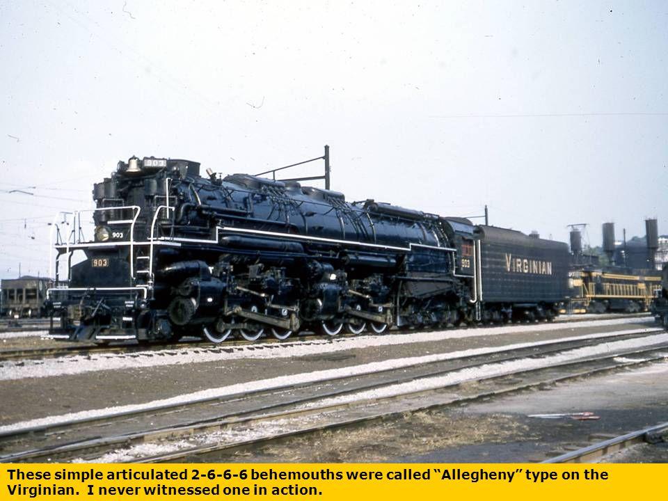 Saturday September 1, 1957 Roanoke to Matoka, WVA via N&W Matoka to Roanoke via Virginian
