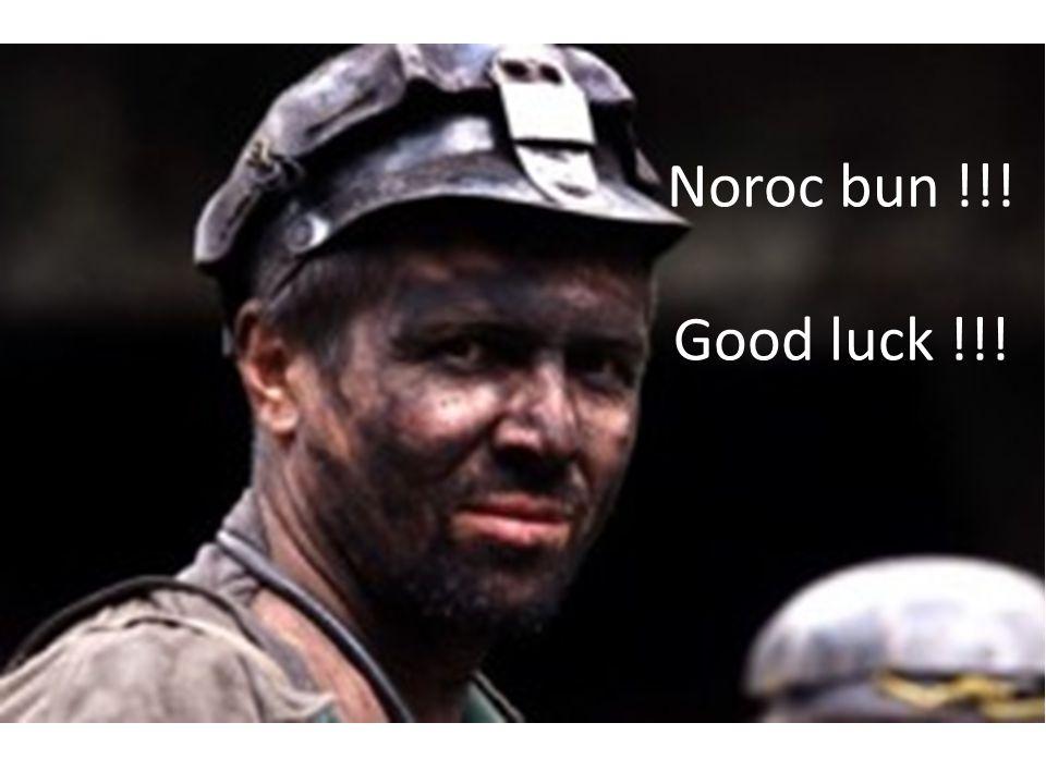 Noroc bun !!! Good luck !!!