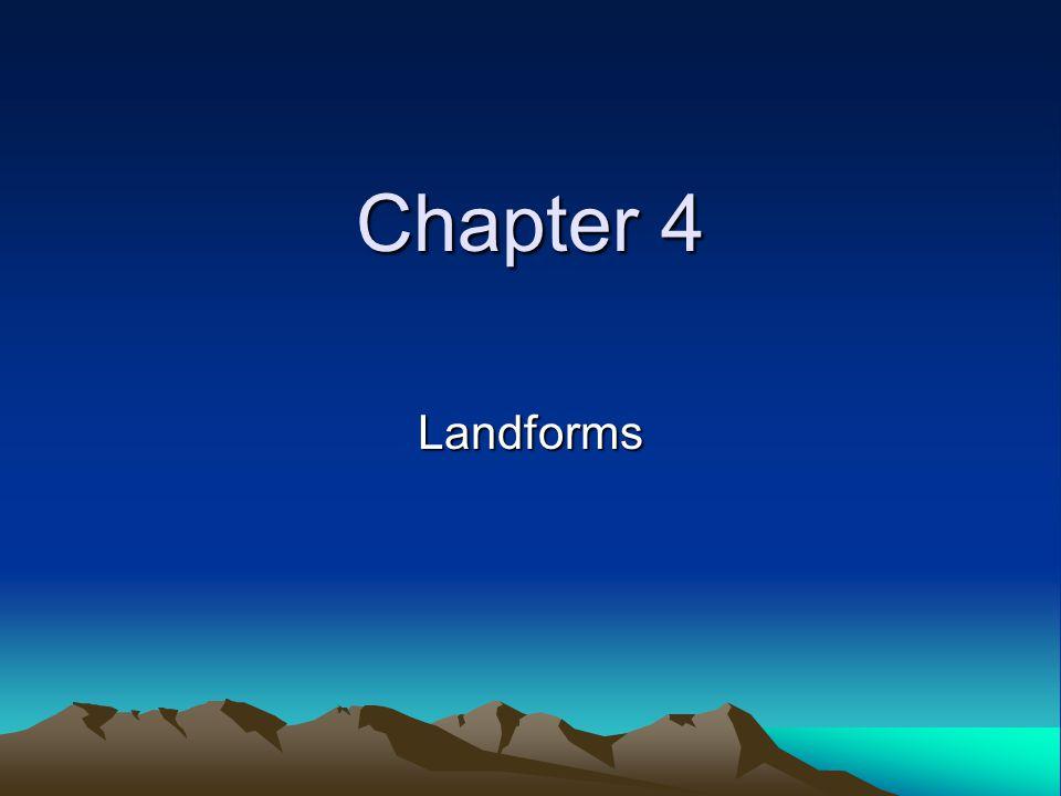 Chapter 4 Landforms