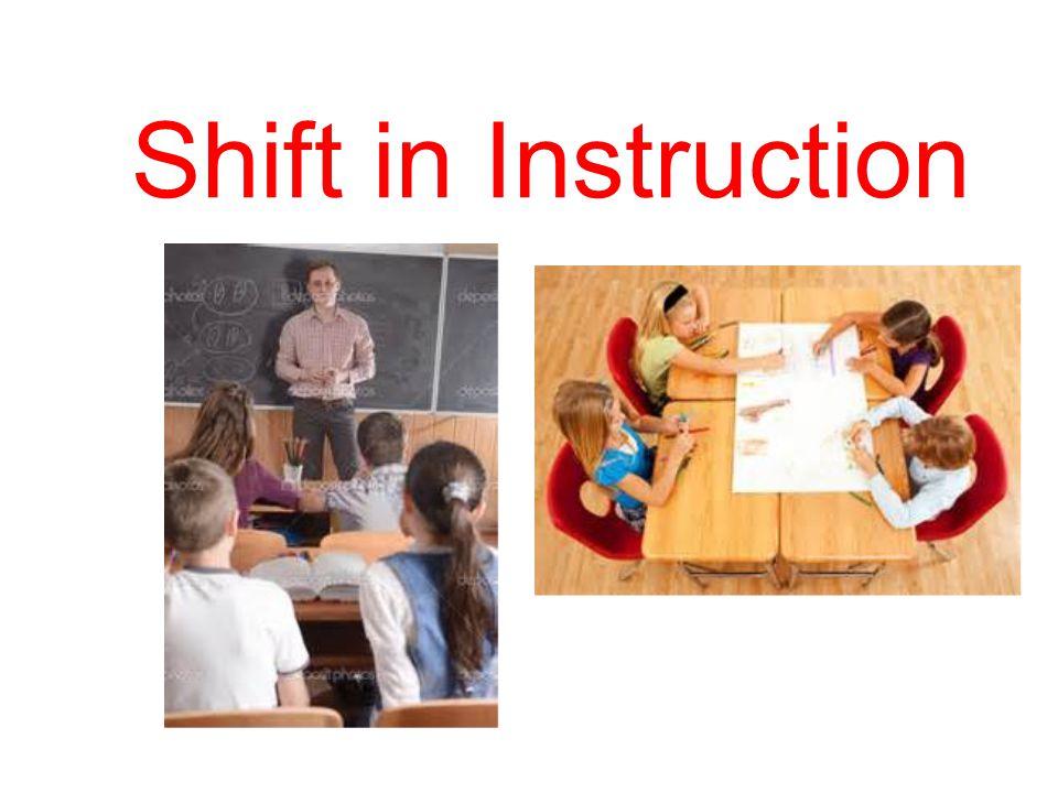 Shift in Learning