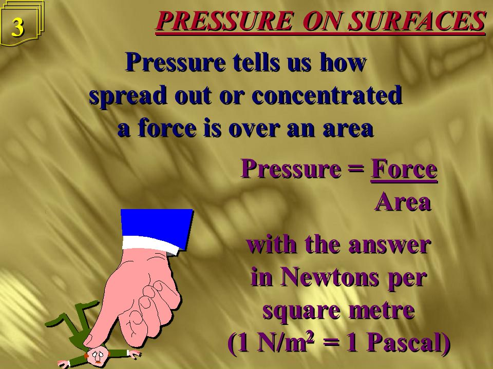 PRESSURE ON SURFACES 2 2