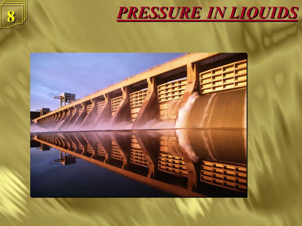 PRESSURE IN LIQUIDS 8 8