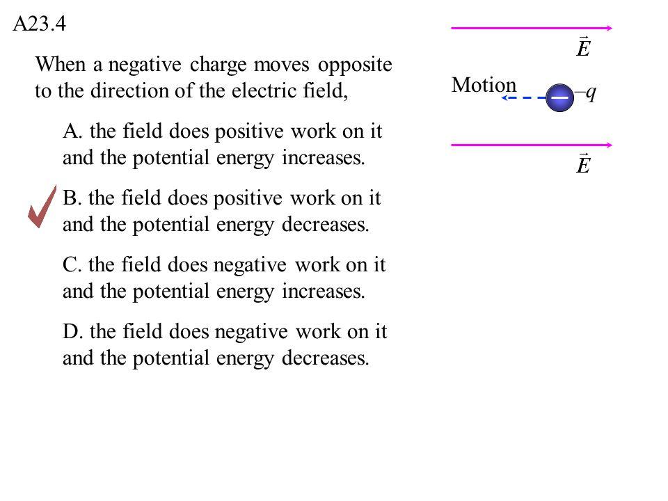 Q23.5 A.positive.B. negative. C. zero.D.