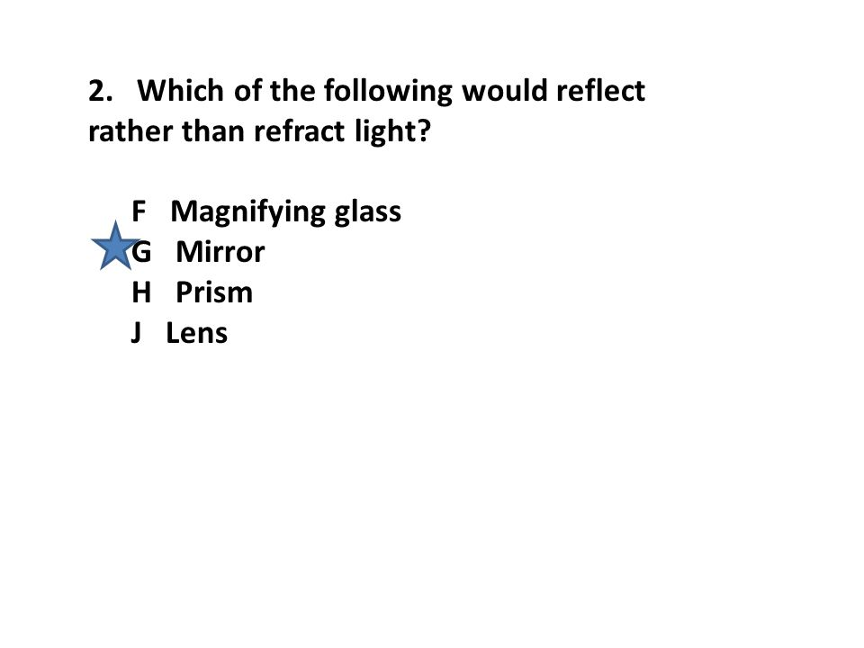 23.The picture shows a study that Isaac Newton made with a prism to produce a spectrum.