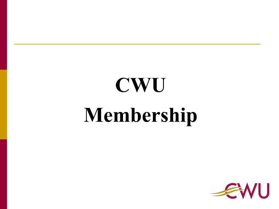 CWU Membership