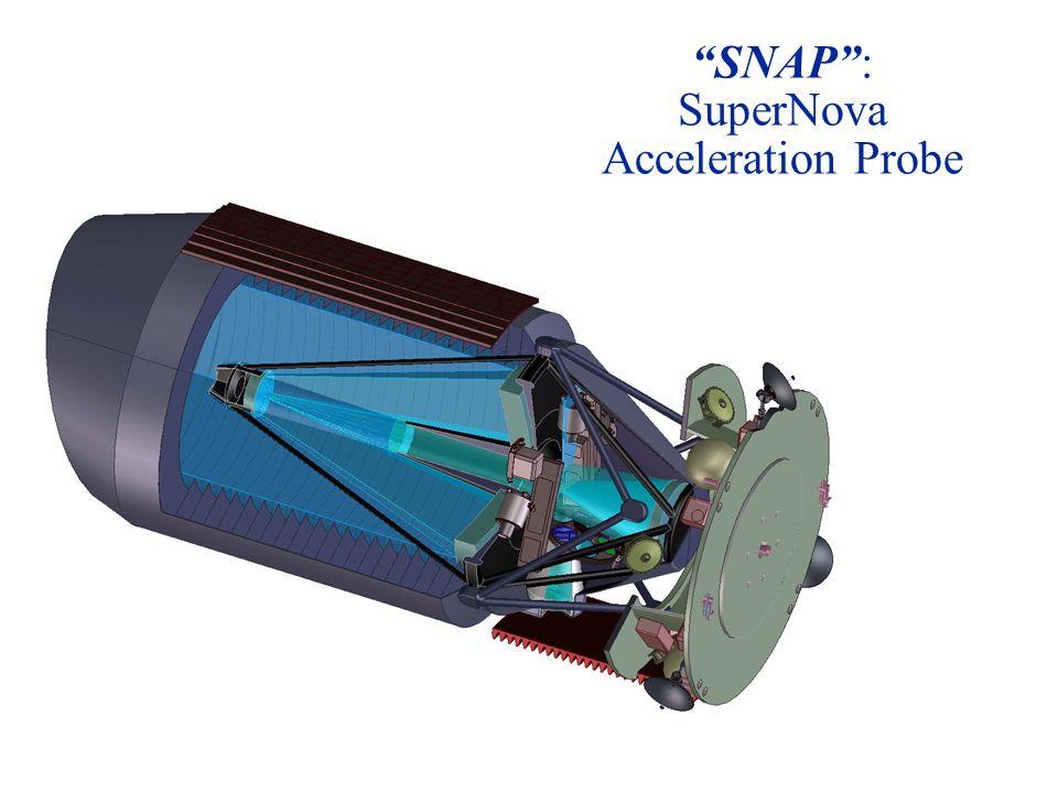 SNAP : SuperNova Acceleration Probe