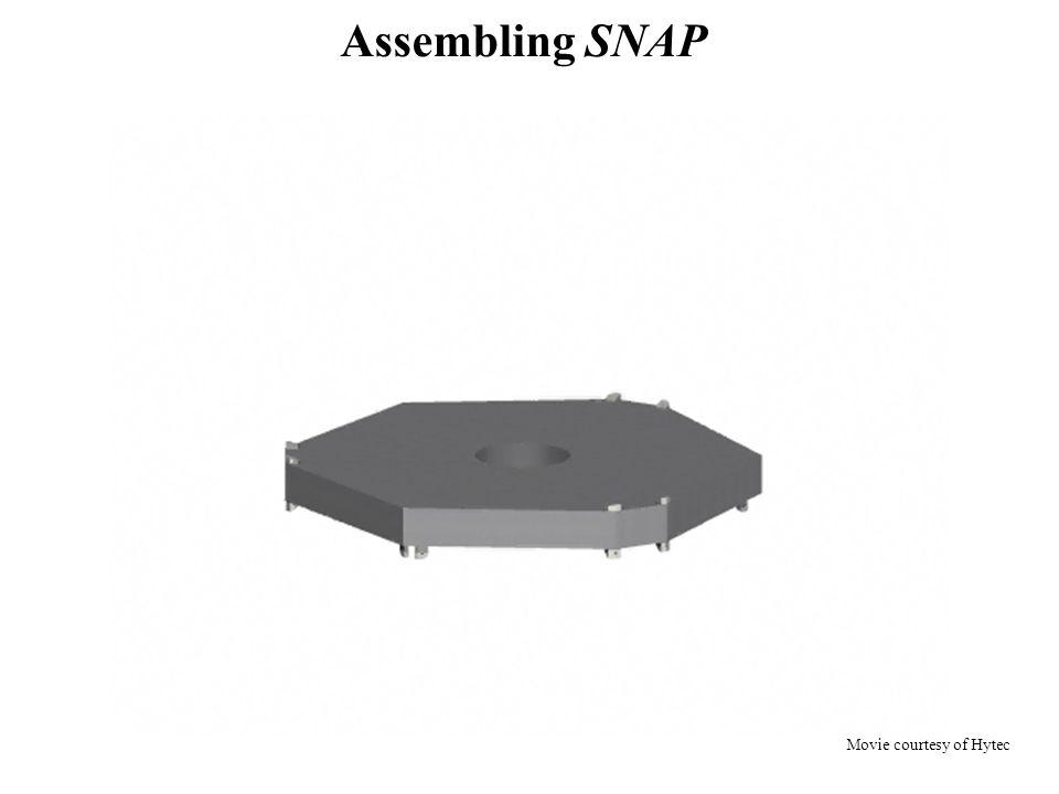 Assembling SNAP Movie courtesy of Hytec