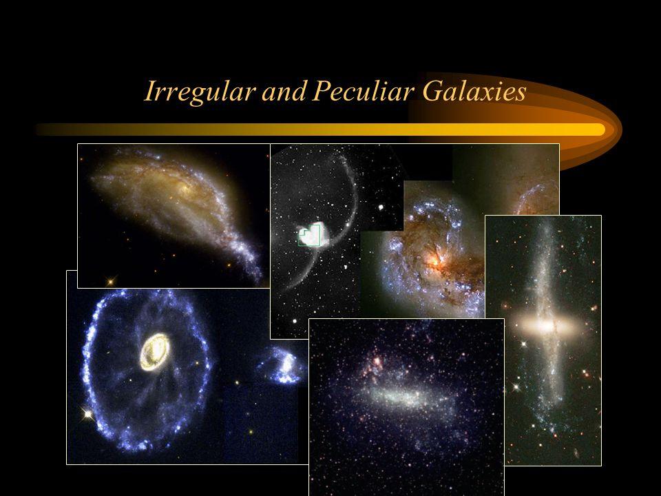 Irregular and Peculiar Galaxies