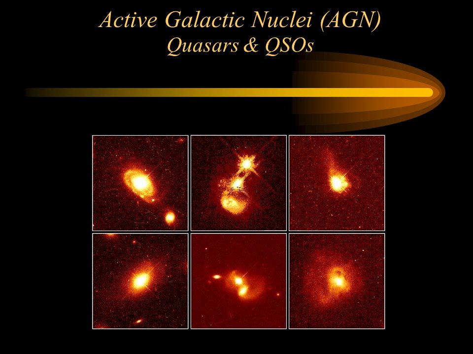 Active Galactic Nuclei (AGN) Quasars & QSOs After HST