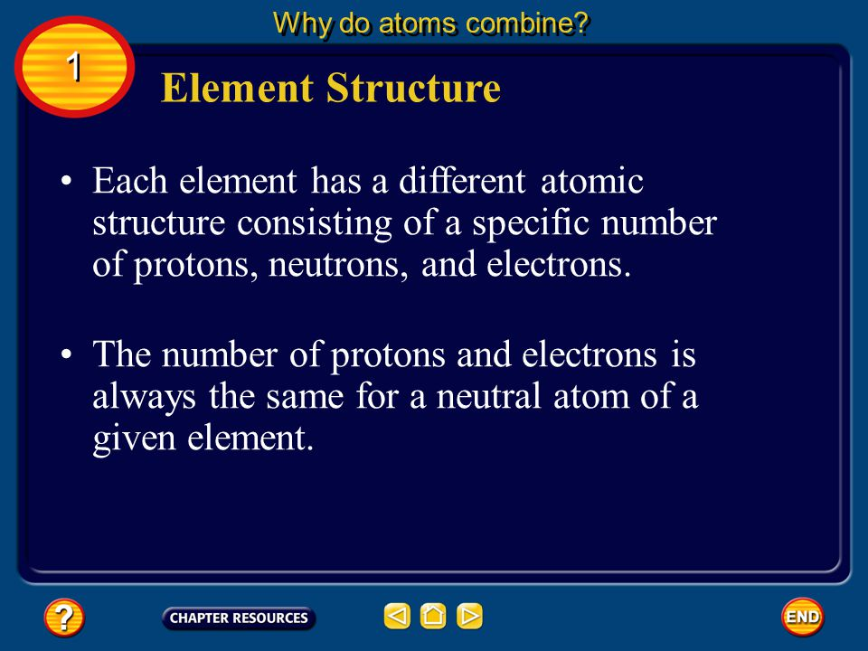 It is impossible to calculate the exact position of any one electron. Electrons Why do atoms combine? 1 1