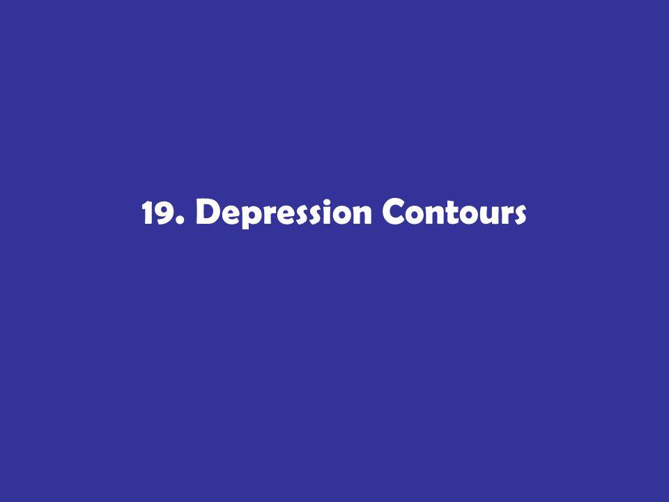 19. Depression Contours