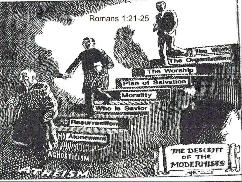 2 Authority Romans 1:21-25