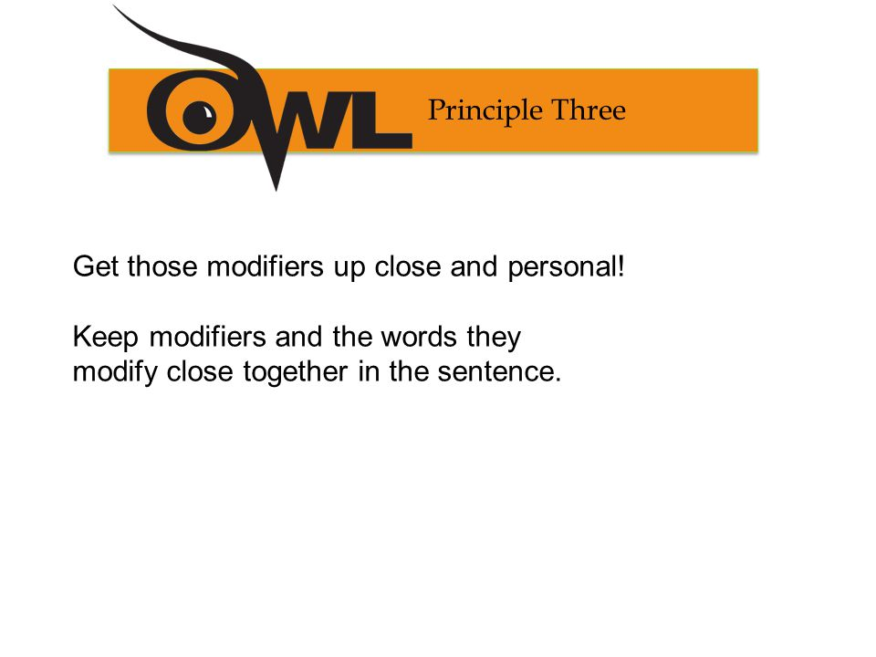 Principle Three Examples modifying phrase Prone to non-linear fissures and cracks, the asphalt is difficult to cut.