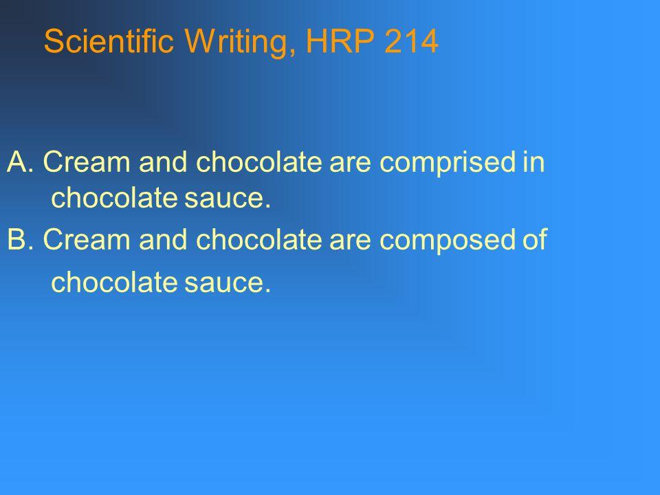 Scientific Writing, HRP 214 2.Prevalence v.
