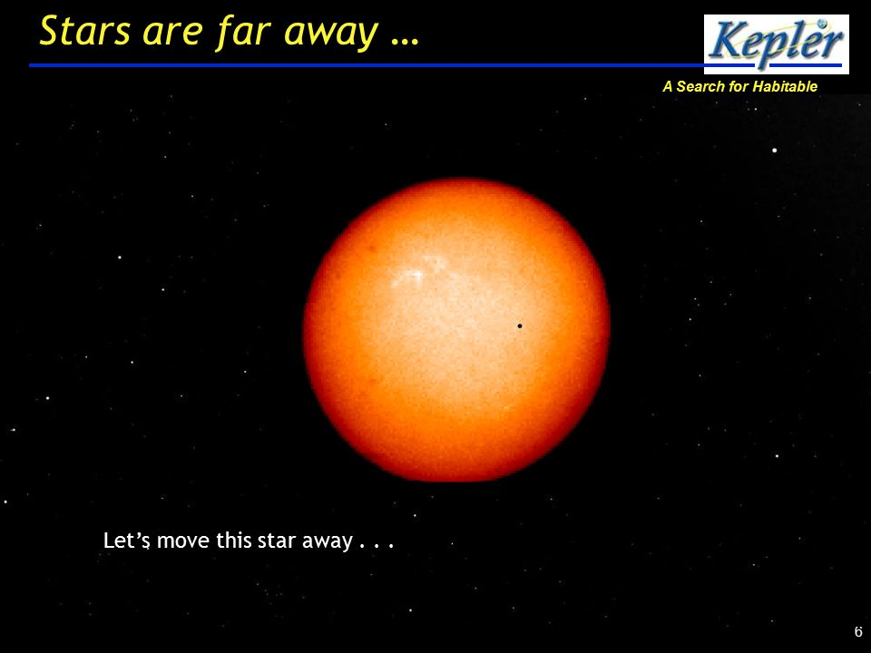 A Search for Habitable Planets 17 Where are we looking?