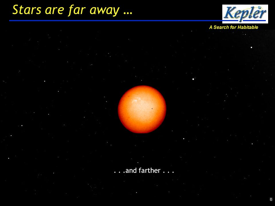 A Search for Habitable Planets 9 Stars are far away …