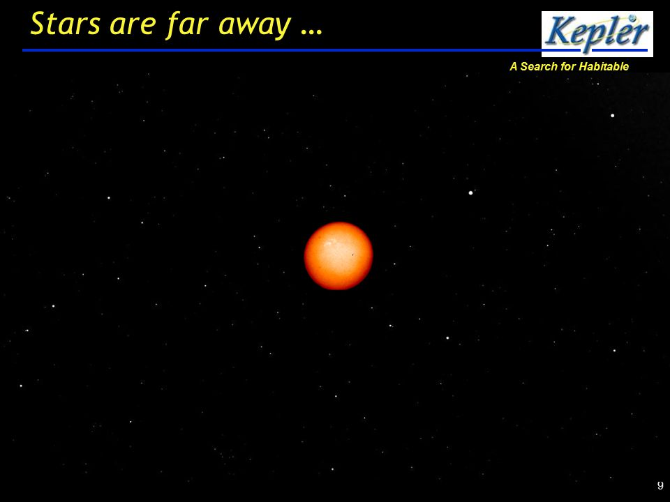 A Search for Habitable Planets 10 Stars are far away …