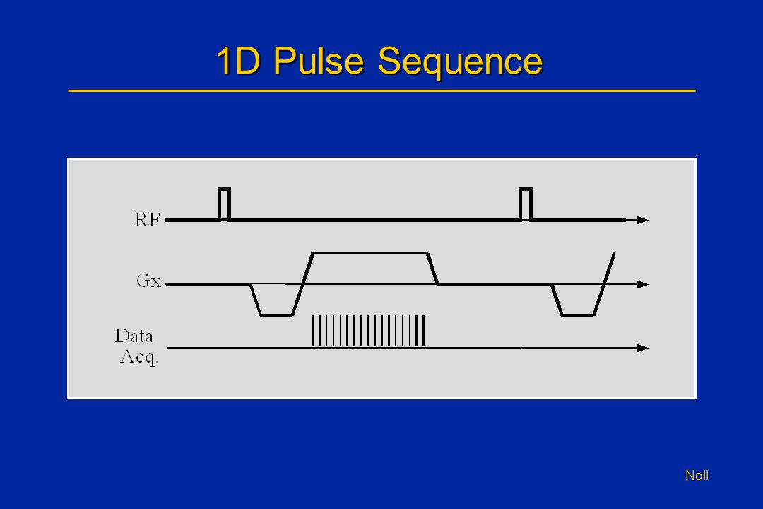 Noll 1D Pulse Sequence