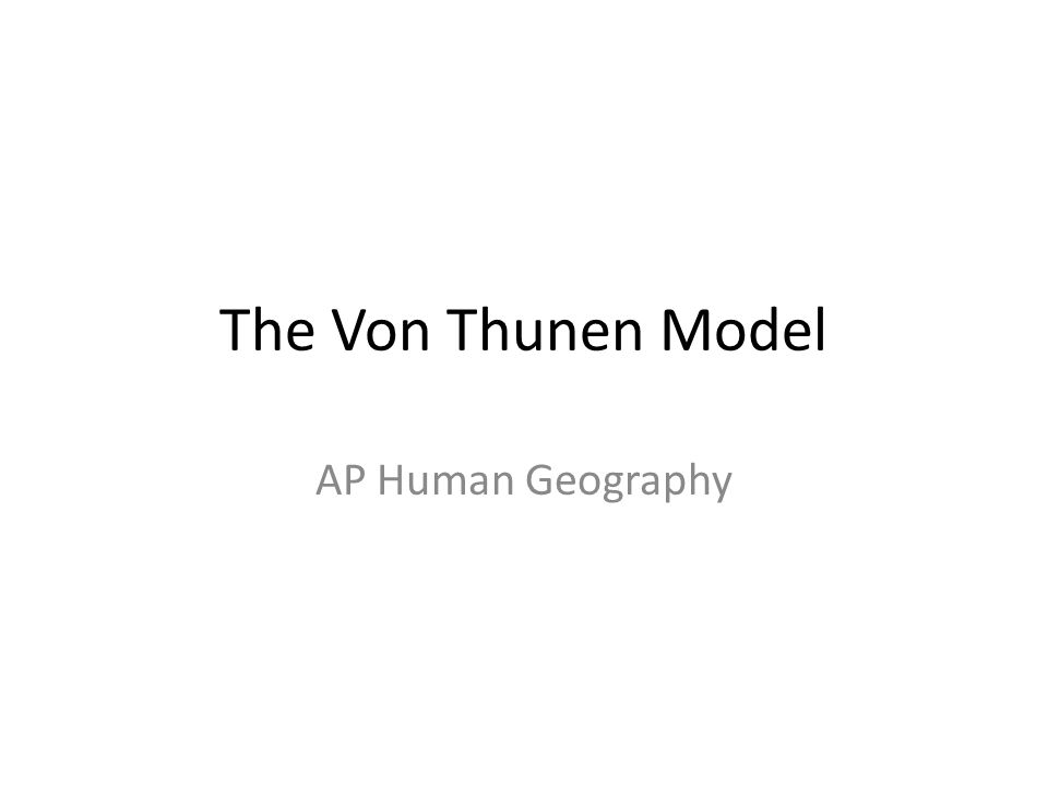 Review: What is a model.