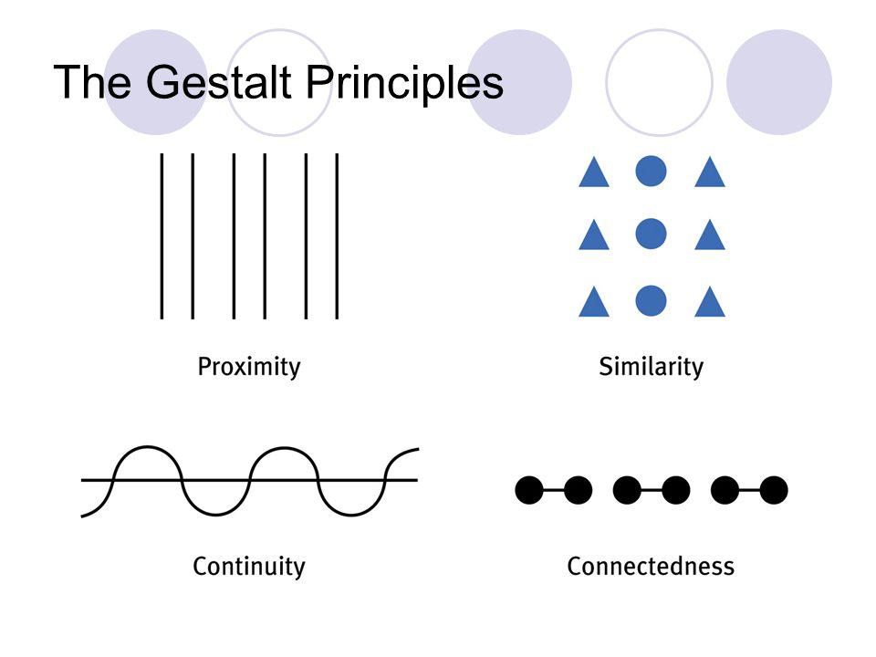 The Gestalt Principles